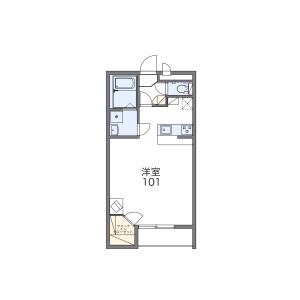 1K Apartment in Ikebukurohoncho - Toshima-ku Floorplan