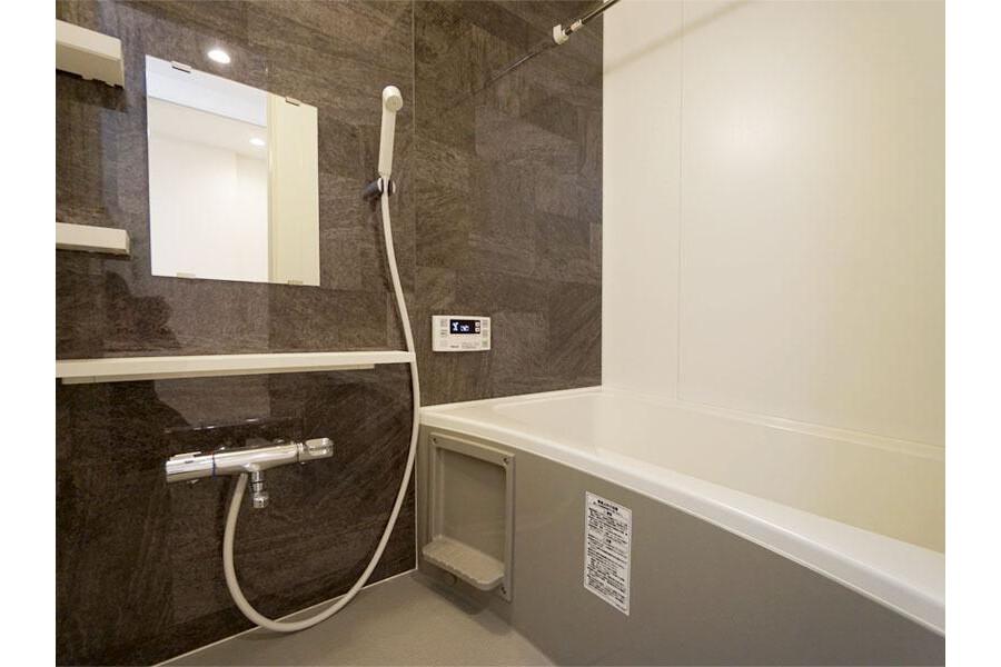 1LDK Apartment to Rent in Ota-ku Bathroom