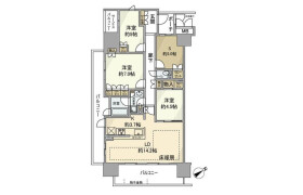 3SLDK Apartment in Nishikasai - Edogawa-ku