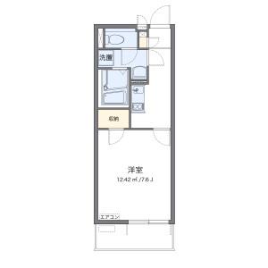 1K Mansion in Ketsuka - Higashimatsuyama-shi Floorplan
