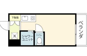 豊島区 南長崎 1R {building type}