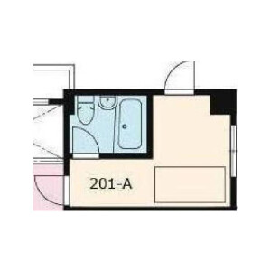 1R Mansion in Morishita - Koto-ku Floorplan