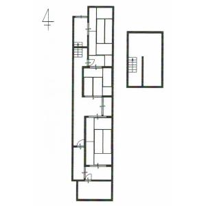 3LDK {building type} in Higashidaikucho - Kyoto-shi Shimogyo-ku Floorplan