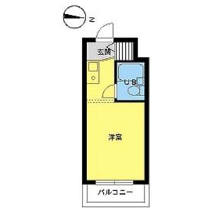 1R Mansion in Shimotakaido - Suginami-ku Floorplan