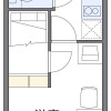 1K Apartment to Rent in Osaka-shi Minato-ku Floorplan