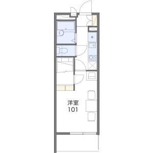 1K Mansion in Minamiichioka - Osaka-shi Minato-ku Floorplan