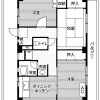 3DK Apartment to Rent in Kai-shi Floorplan