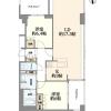 2LDK Apartment to Buy in Osaka-shi Fukushima-ku Floorplan