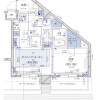1DK Apartment to Rent in Chiyoda-ku Floorplan