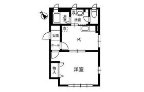 港区赤坂-1DK公寓大厦