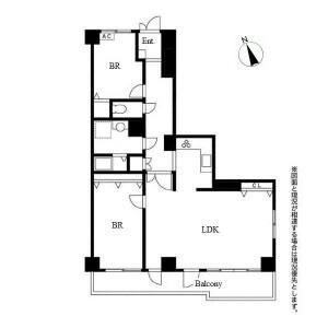2LDK Apartment in Nakata - Nagoya-shi Chikusa-ku Floorplan