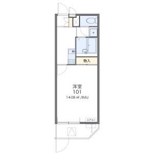 1K Mansion in Togodori - Moriguchi-shi Floorplan