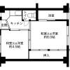 在一宮市內租賃2K 公寓大廈 的房產 房間格局