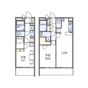 1K Mansion in Oyaguchi kitacho - Itabashi-ku Floorplan
