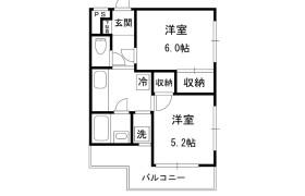 2K Mansion in Ooka - Yokohama-shi Minami-ku