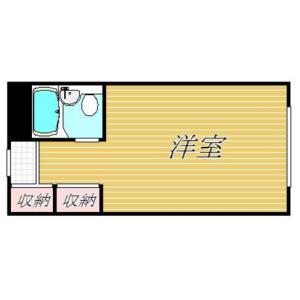 1R Apartment in Roppongi - Minato-ku Floorplan