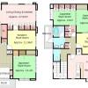 5LDK House to Buy in Kyoto-shi Sakyo-ku Floorplan