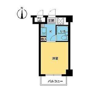 1R Mansion in Daimachi - Yokohama-shi Kanagawa-ku Floorplan