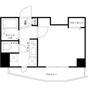 1K Mansion in Minamiotsuka - Toshima-ku Floorplan
