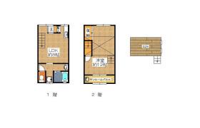 1LDK House in Minamiichioka - Osaka-shi Minato-ku