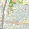 1R Apartment to Rent in Shinjuku-ku Access Map