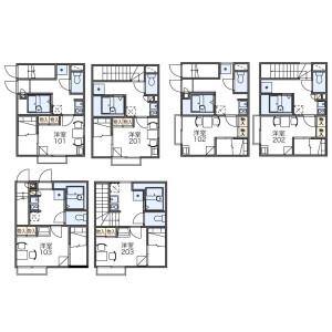 1K Apartment in Minamikugahara - Ota-ku Floorplan