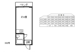 1R Apartment in Sagisu - Osaka-shi Fukushima-ku