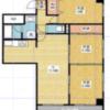 3LDK Apartment to Rent in Nagoya-shi Kita-ku Floorplan