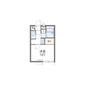 1K Apartment in Todoroki - Setagaya-ku Floorplan