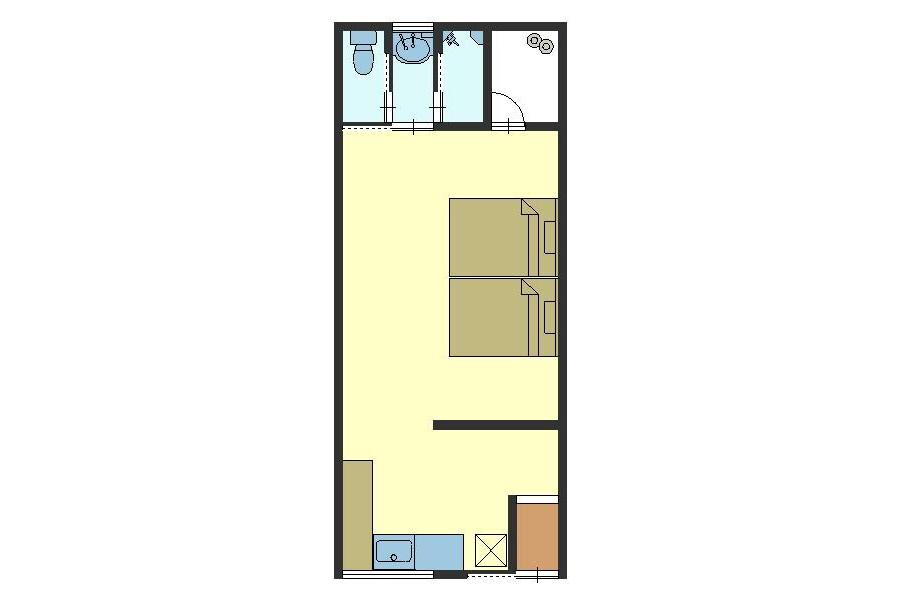 1K House to Buy in Kyoto-shi Shimogyo-ku Floorplan