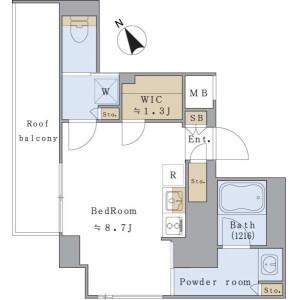 1R Mansion in Kohinata - Bunkyo-ku Floorplan