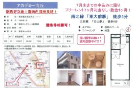 文京区 向丘 1R アパート