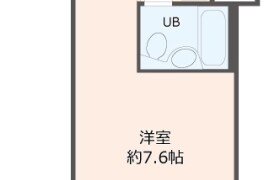 1R {building type} in Higashigokencho - Shinjuku-ku