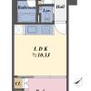 在澀谷區購買1LDK 公寓大廈的房產 房間格局