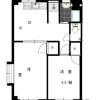 2DK Apartment to Rent in Minato-ku Floorplan