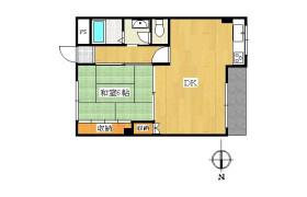 1LDK Apartment in Minamiichioka - Osaka-shi Minato-ku