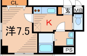 1K Apartment in Ikenohata - Taito-ku