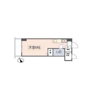 1R {building type} in Iwaicho - Yokohama-shi Hodogaya-ku Floorplan