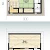 1DK House to Rent in Taito-ku Floorplan