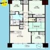 4LDK Apartment to Buy in Edogawa-ku Floorplan