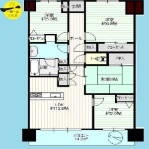 4LDK {building type} in Kamiisshiki - Edogawa-ku Floorplan