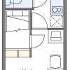 在名古屋市昭和區內租賃1K 公寓大廈 的房產 房間格局