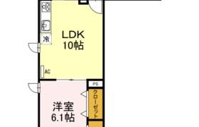 1LDK Apartment in Shimohirama - Kawasaki-shi Saiwai-ku