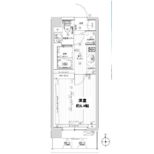 1K Mansion in Noborito - Kawasaki-shi Tama-ku Floorplan