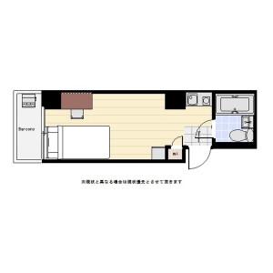 1R Mansion in Shinkawa - Chuo-ku Floorplan