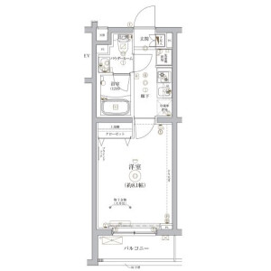 1K Mansion in Hikawacho - Itabashi-ku Floorplan
