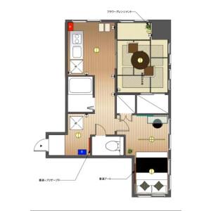 2DK Mansion in Asakusa - Taito-ku Floorplan