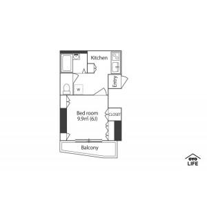 1K Mansion in Ebara - Shinagawa-ku Floorplan