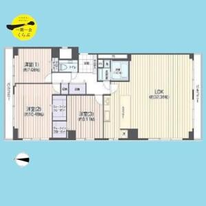 3LDK {building type} in Shimomeguro - Meguro-ku Floorplan