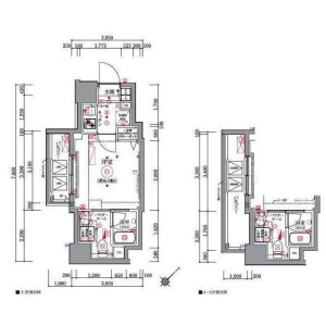 1K Mansion in Chojamachi - Yokohama-shi Naka-ku Floorplan